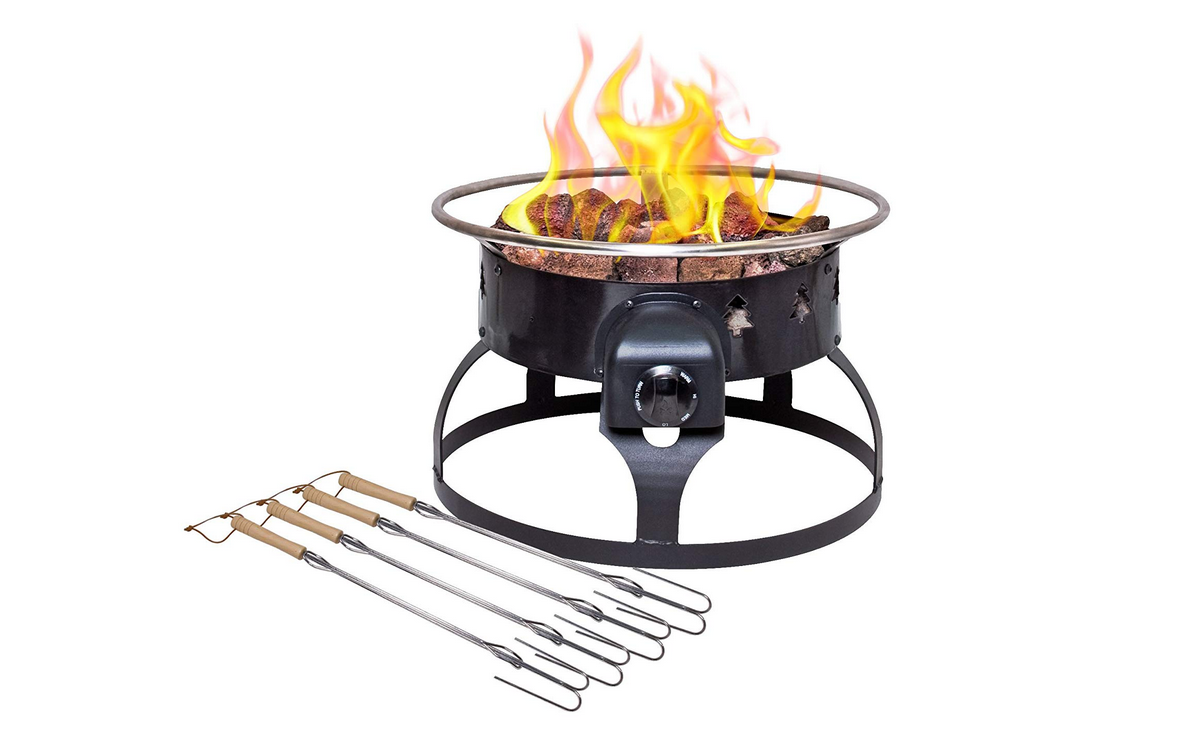 6 Best Portable Propane Fire Pits For Camping And Patios